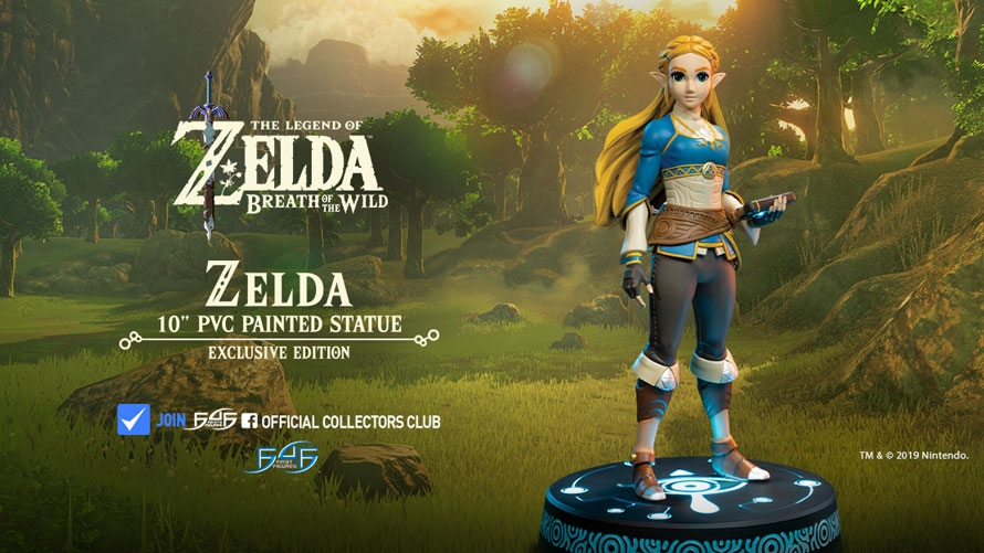 The Legend of Zelda: Breath of the Wild – Zelda Statue Launch