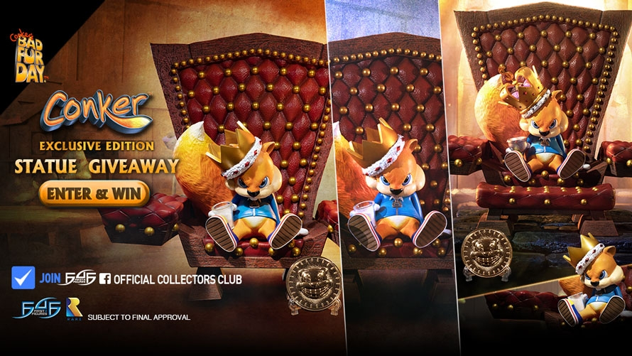 Conker Launch & Giveaway