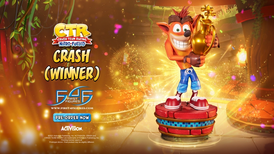 Crash Team Racing™ Nitro-Fueled – Crash (Winner) Statue Launch