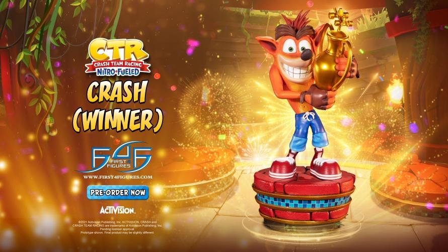 Crash Team Racing™ Nitro-Fueled – Crash (Winner) Statue Launch