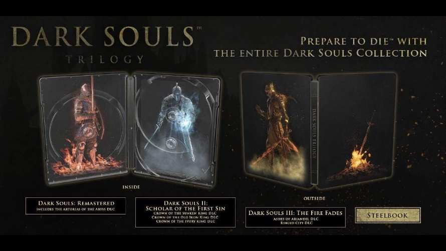 Dark Souls Trilogy Giveaway