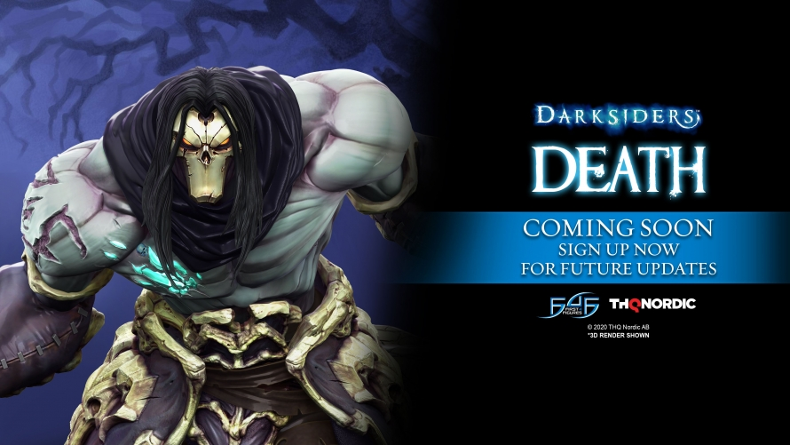 Darksiders II – Death Statue Coming Soon