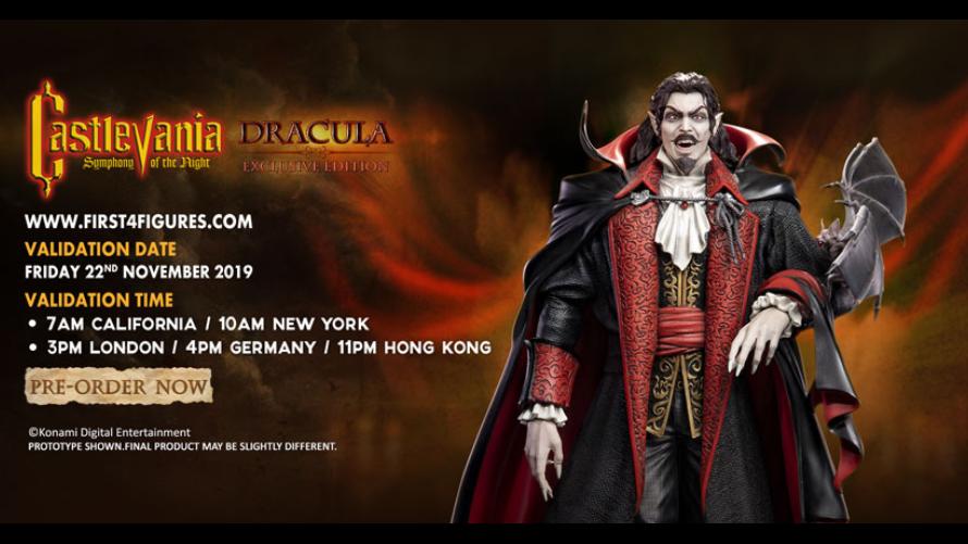 Dracula Statue Pre-Order FAQs