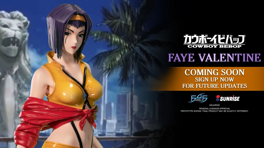 A First Look at the Cowboy Bebop – Faye Valentine Statue