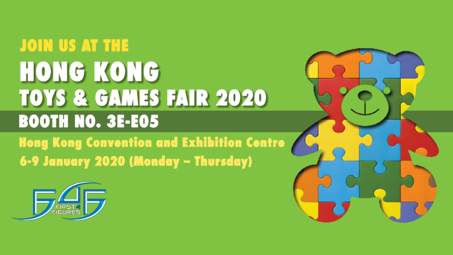 First 4 Figures @ Hong Kong Toys & Games Fair 2020
