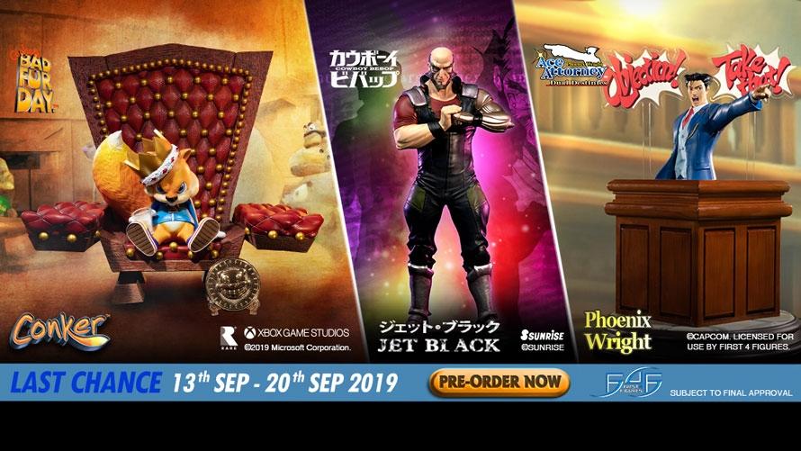 Last Chance – Phoenix Wright, Conker & Jet Black