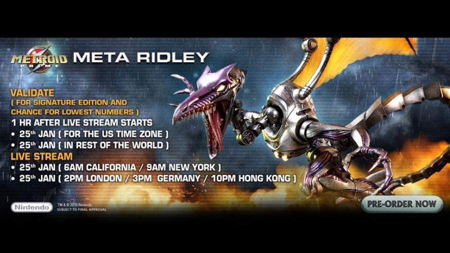 Meta Ridley Pre-Order FAQs
