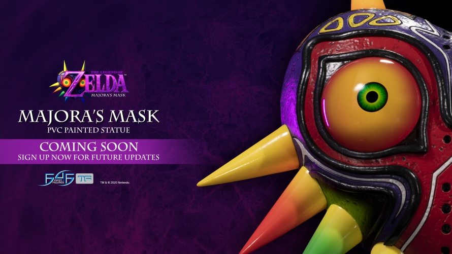 A First Look at The Legend of Zelda™: Majora's Mask – Majora's Mask PVC Statue