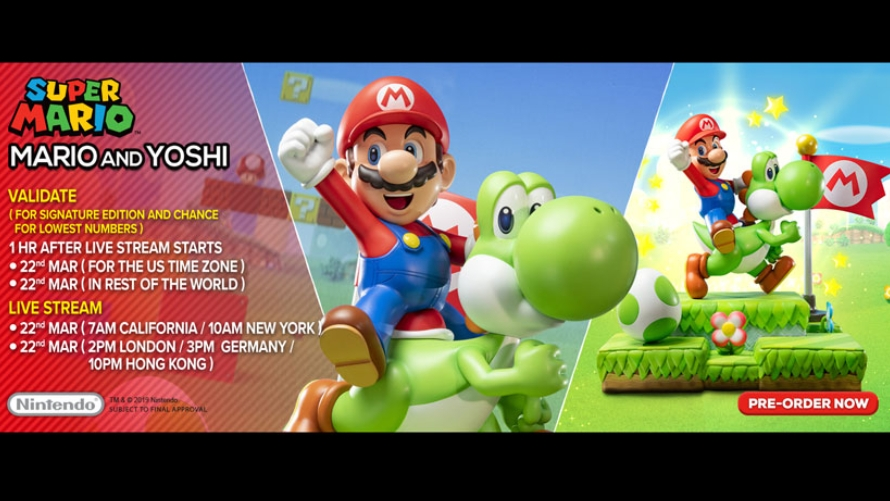 Mario and Yoshi Pre-Order FAQs