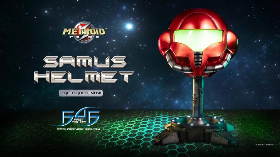 Metroid Prime™: Samus Helmet Statue Launch