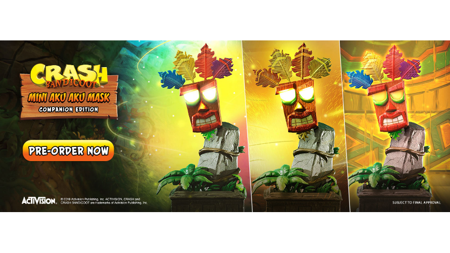 Companion Piece Launch: Mini Aku Aku Mask