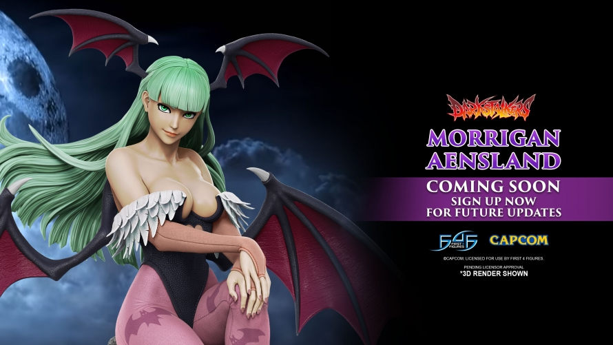 A First Look at the Darkstalkers – Morrigan Aensland Statue