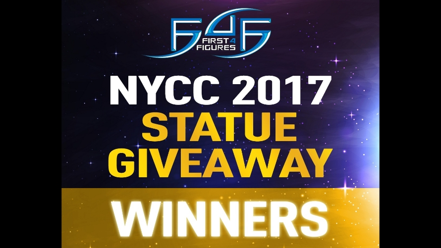 New York Comic Con 2017: Statue Giveaway Winners