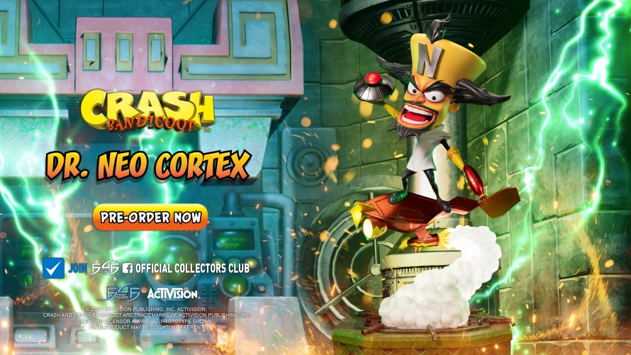 Crash Bandicoot™ – Dr. Neo Cortex Statue Launch