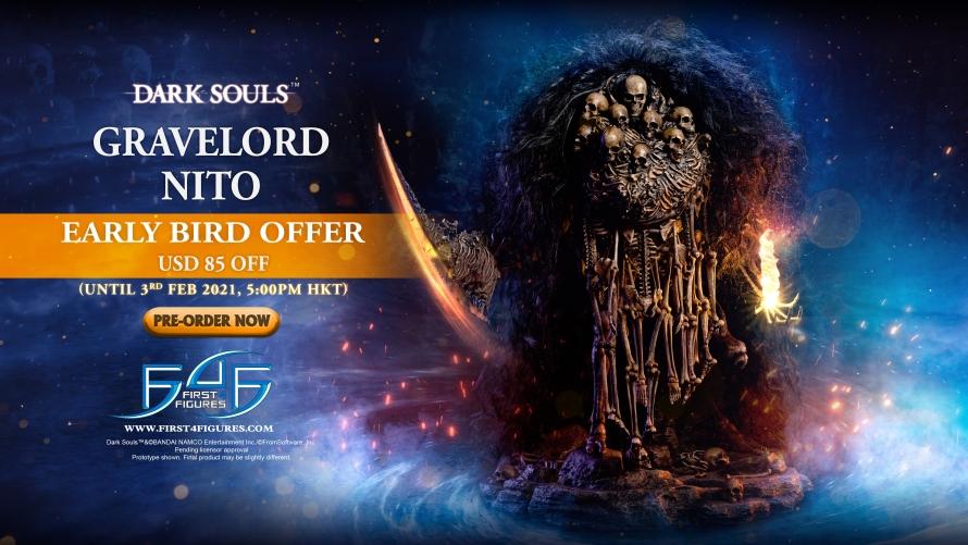 Dark Souls™ – Gravelord Nito Statue Pre-Order FAQs