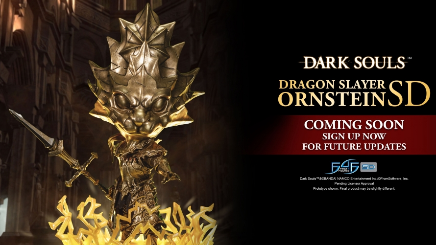 Dark Souls – Dragon Slayer Ornstein SD Statue at a Glance