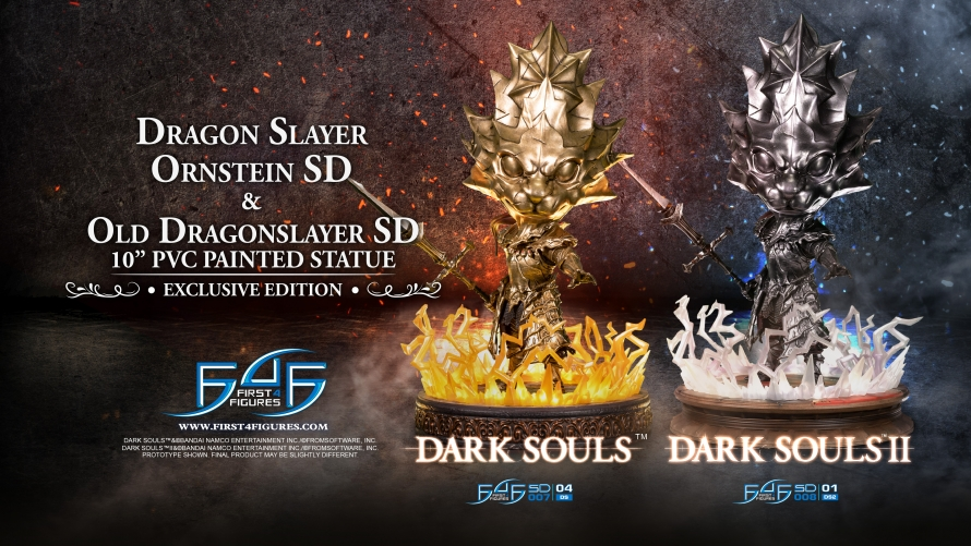 Dark Souls™ & Dark Souls™ II  – Dragon Slayer Ornstein SD & Old Dragonslayer SD Statue Pre-Order FAQs