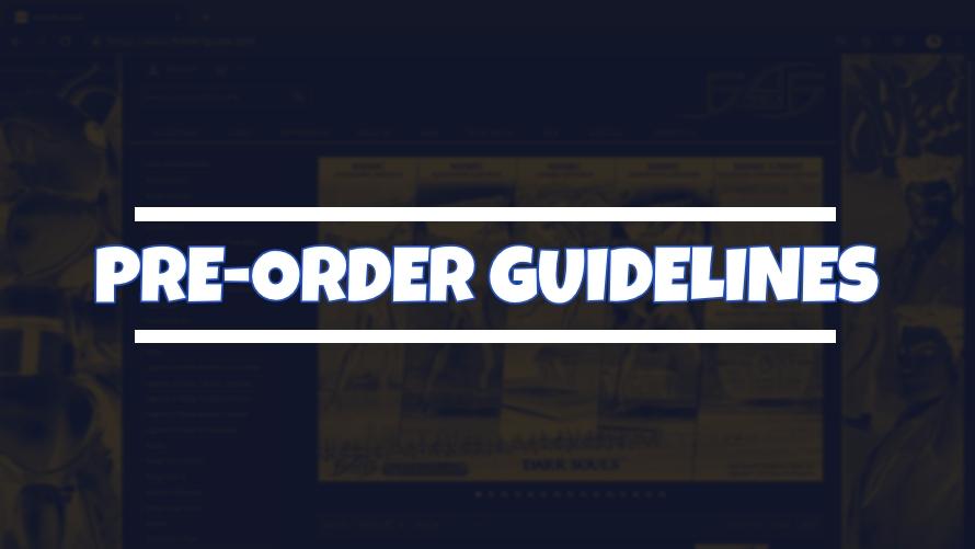Pre-Ordering Guidelines