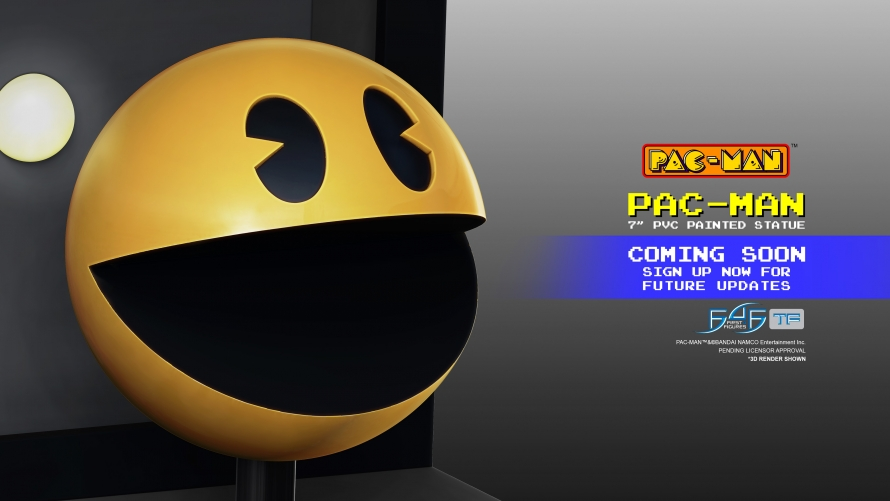A First Look at the PAC-MAN – PAC-MAN PVC Statue