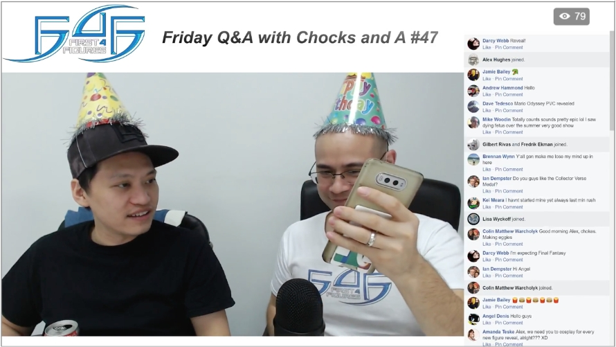 Recap: Friday Q&A with Chocks and A #47 (December 1, 2017)