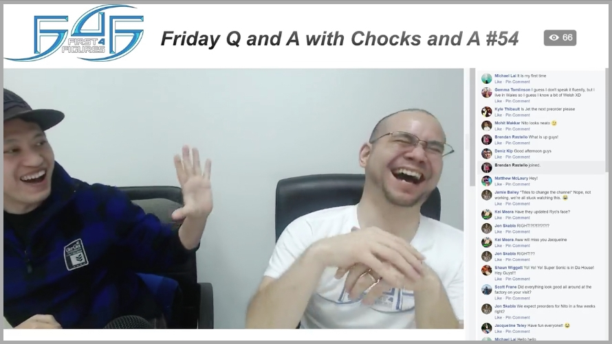 Recap: Friday Q&A with Chocks and A #54 (January 19, 2018)