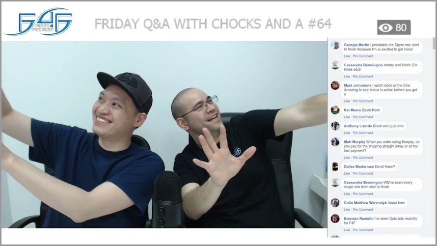 Recap: Friday Q&A with Chocks and A #64 (March 30, 2018)