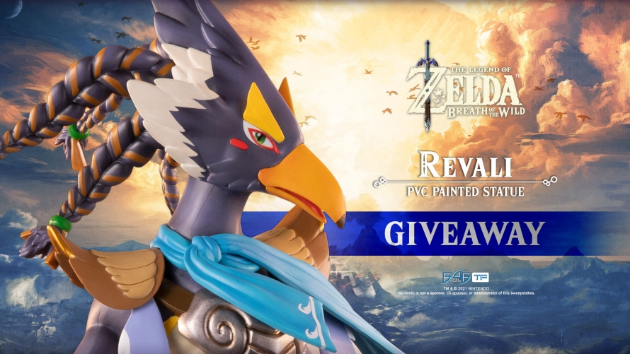The Legend of Zelda™: Breath of the Wild – Revali PVC Statue Giveaway