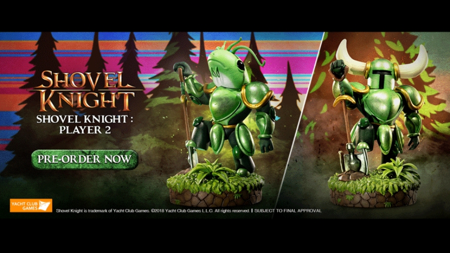 Shovel Knight Player 2 Pre-Order FAQs