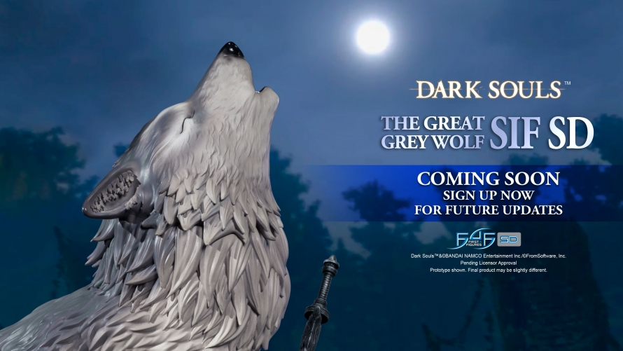 Dark Souls™ – The Great Grey Wolf Sif SD Statue Coming Soon