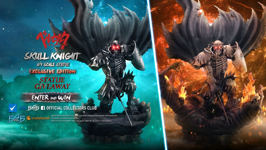 Skull Knight Statue Launch & Giveaway