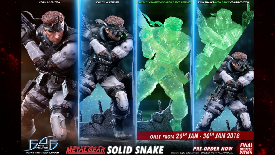 Solid Snake Relaunch FAQs