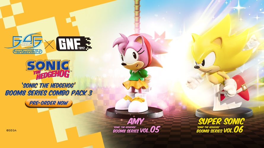 Sonic the Hedgehog Boom8 Series – Combo Pack 3 Launch