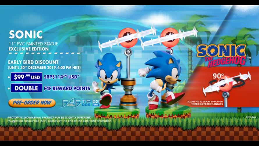 Sonic PVC Statue Pre-Order FAQs