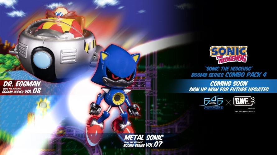 A First Look at the Sonic The Hedgehog Boom8 Series - Combo Pack 4