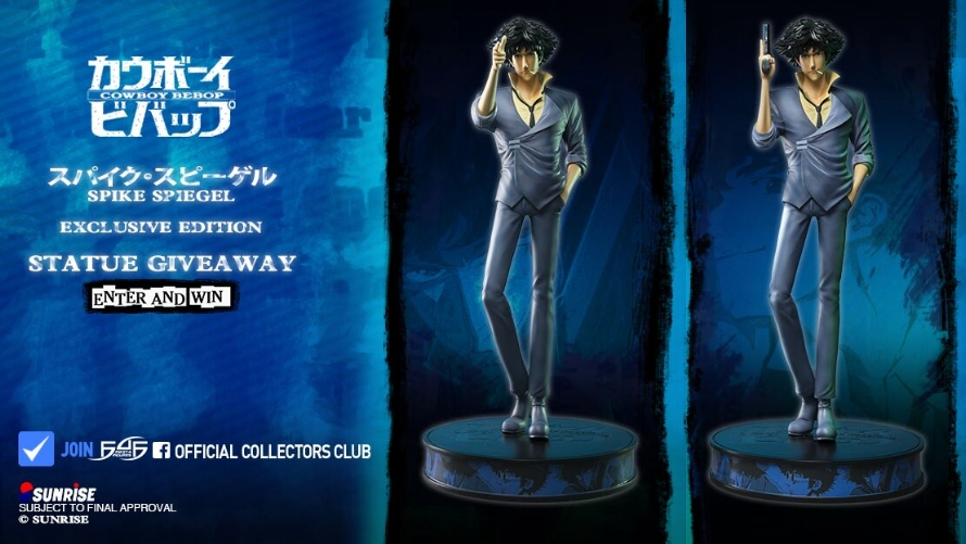 Spike Spiegel Launch & Giveaway