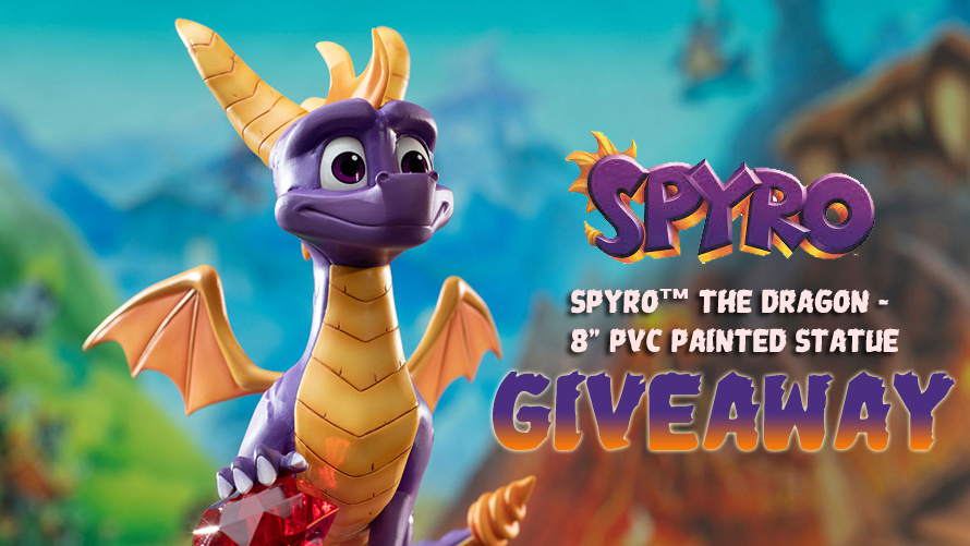 Spyro™ the Dragon – Spyro™ PVC Statue Giveaway