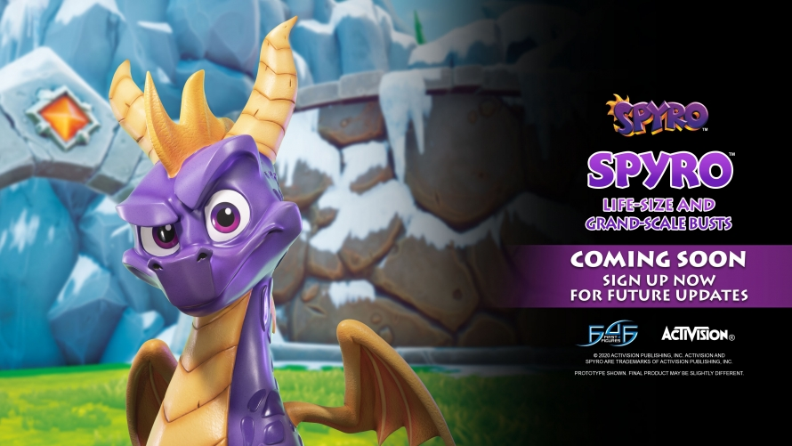 A First Look at the Spyro™ the Dragon – Spyro™ Bust Statue