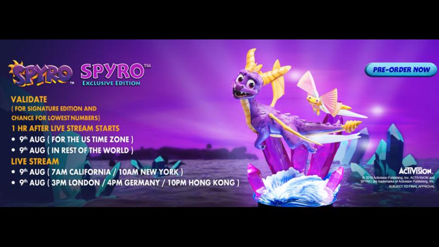 Spyro™ Pre-Order FAQs