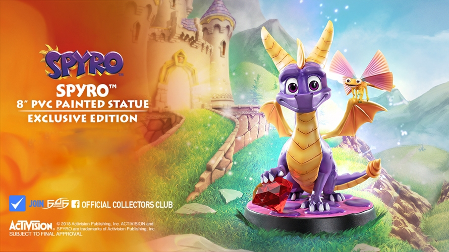 Spyro™ 8″ PVC Launch!
