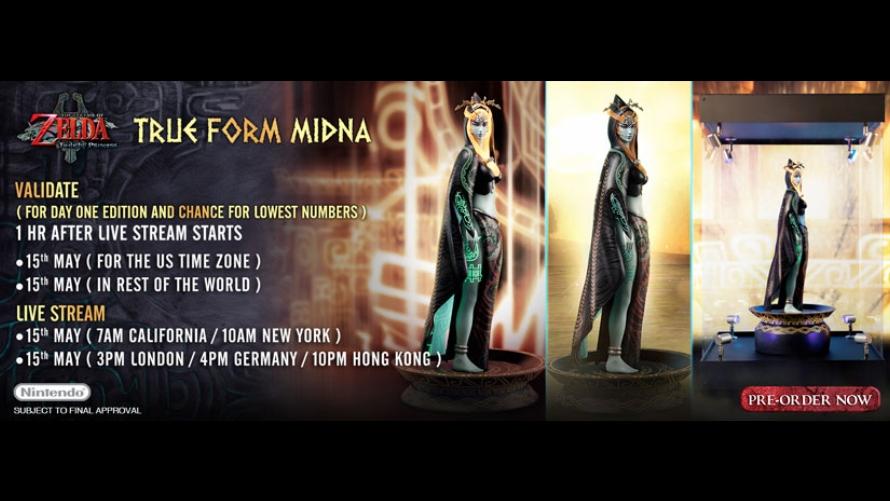 True Form Midna Pre-Order FAQs