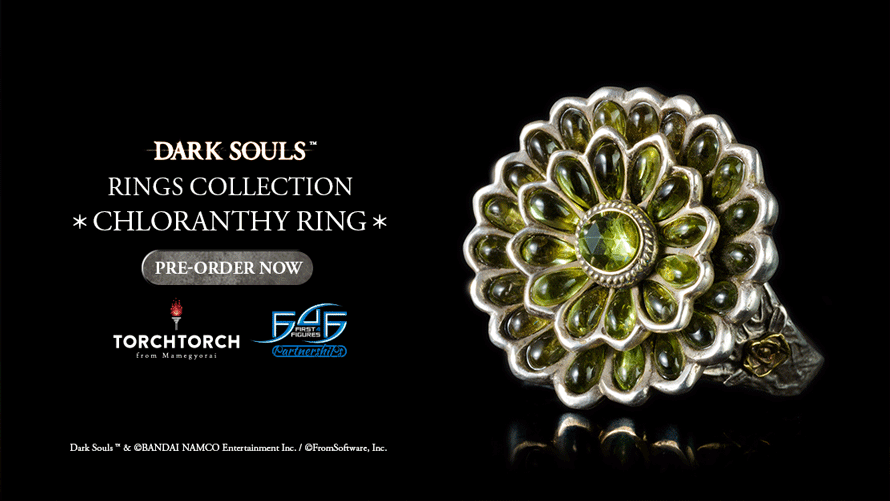 F4F x TORCH TORCH: Chloranthy Ring