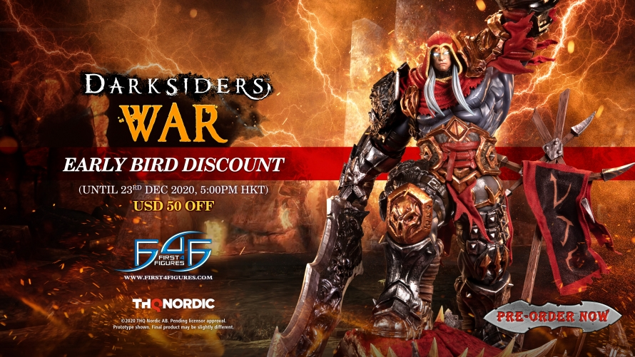 Darksiders – War Statue Pre-Order FAQs