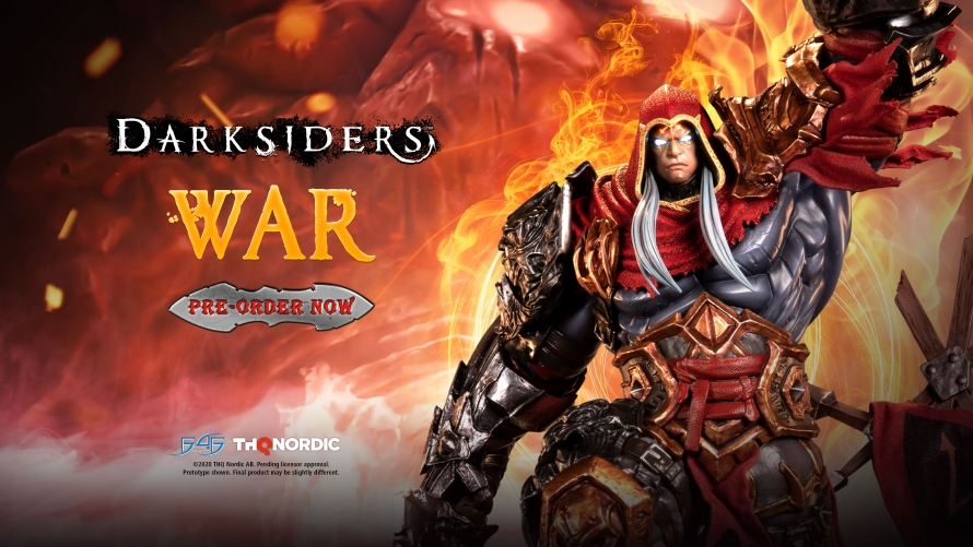 Darksiders – War Statue Launch