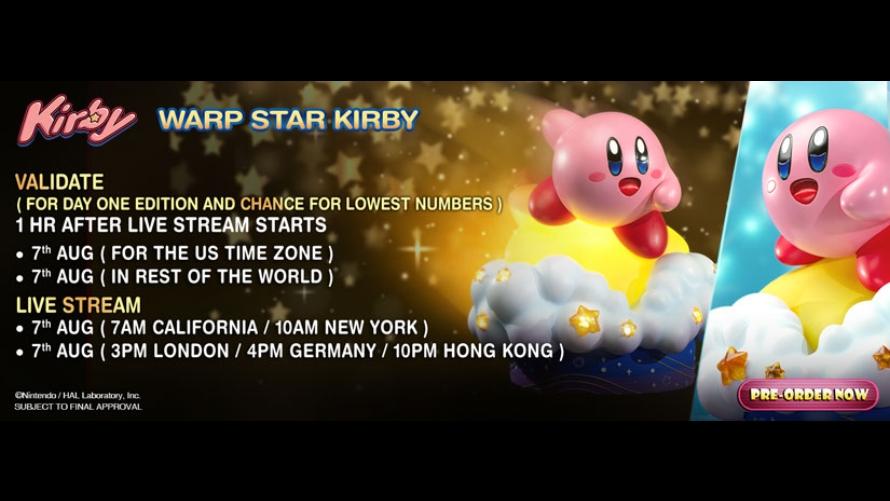 Warp Star Kirby Pre-Order FAQs