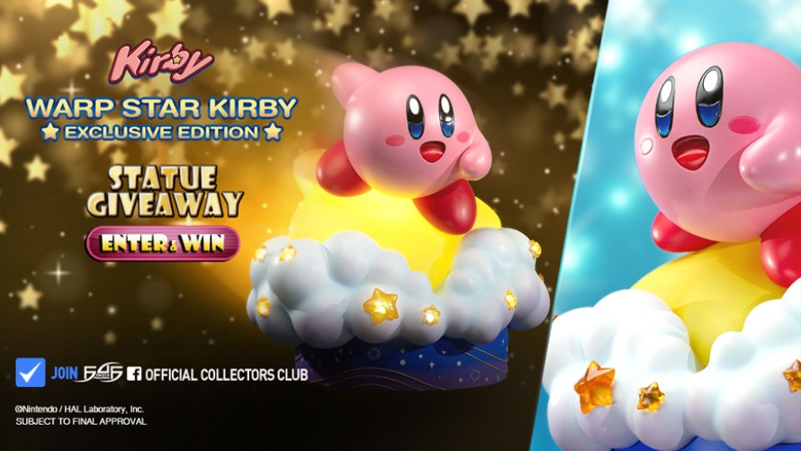 Warp Star Kirby Launch & Giveaway