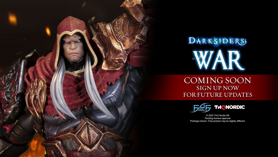Darksiders – War Statue Coming Soon