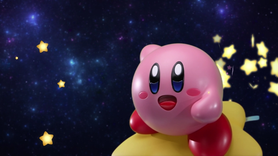 The Only Thing Cuter Than a Pink Ball Is a Pink Ball on a Warp Star