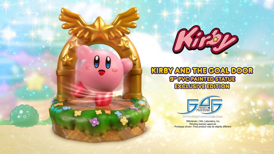 Kirby™ – Kirby and the Goal Door PVC Statue Launch