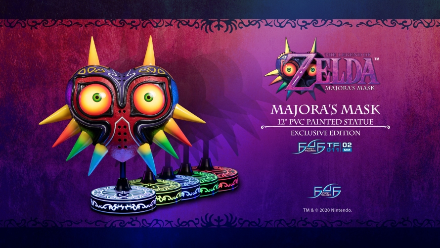 The Legend of Zelda™: Majora's Mask – Majora's Mask PVC Statue Launch