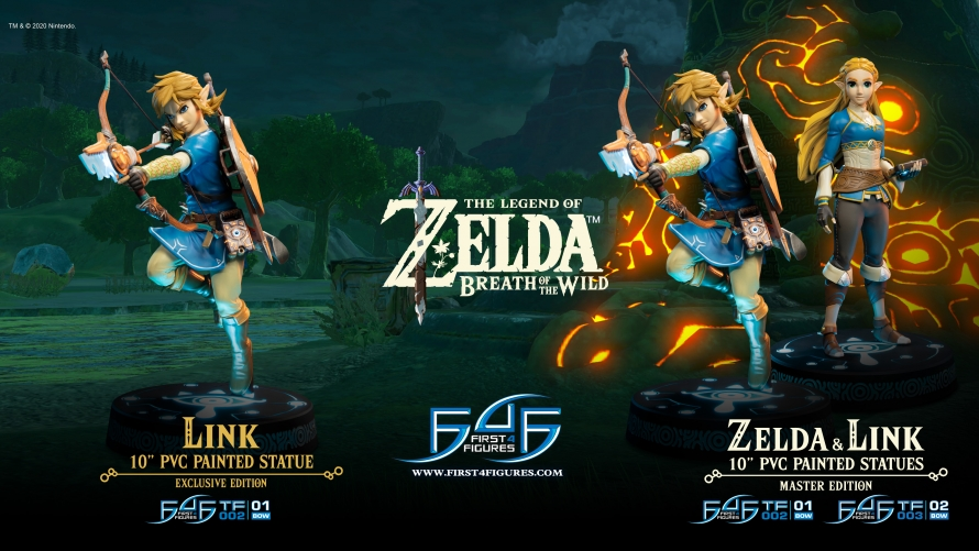 The Legend of Zelda™: Breath of the Wild  – Link (Exclusive Edition) Statue Pre-Order FAQs